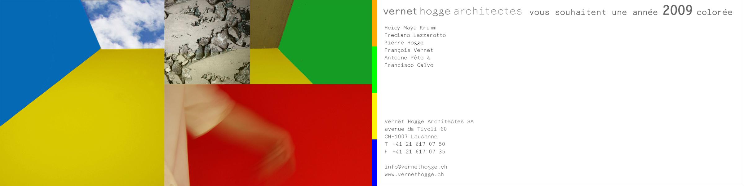 carte voeux 2009